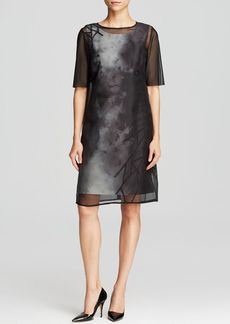 Elie Tahari Kathleen Layered Dress