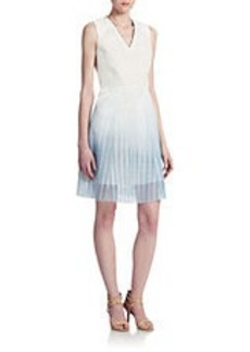 ELIE TAHARI Kemper Fit and Flare Dress