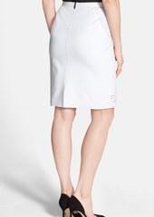 Elie Tahari 'Kim' Cotton Skirt