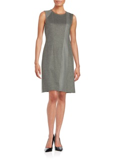 ELIE TAHARI Knit Shift Dress