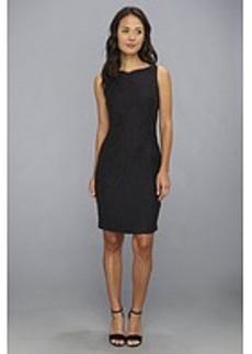 Elie Tahari Ladella Leopard Jacquard Dress