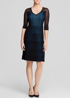 Elie Tahari Lara Printed Sweater Dress