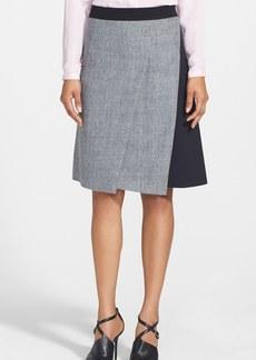 Elie Tahari 'Larissa' Colorblock Tweed Skirt