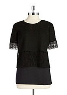 ELIE TAHARI Layered Blouse