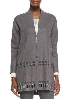 Elie Tahari Leann Wool-Blend Coat