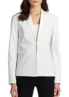 Elie Tahari Leather Darcy Jacket