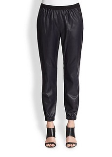 Elie Tahari Leather Emmy Pants