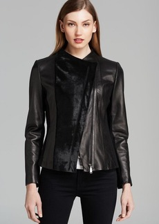 Elie Tahari Leather Jacket - Ariel