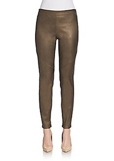Elie Tahari Leather Leggings