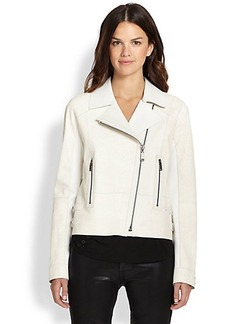 Elie Tahari Leather Roxie Jacket