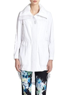 Elie Tahari Leia Cotton-Blend Coat
