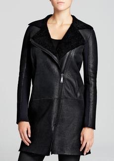 Elie Tahari Lexie Shearling Coat