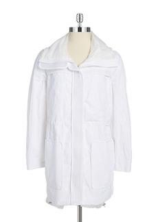 ELIE TAHARI Lightweight Contrast Jacket