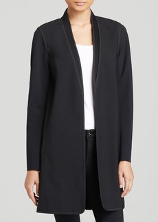 Elie Tahari Lillian Pleat Back Coat