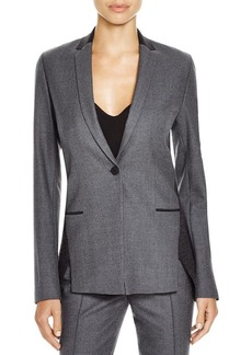 Elie Tahari Lindley Two-Tone Blazer