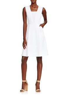 Elie Tahari Lindsay Textured Dress