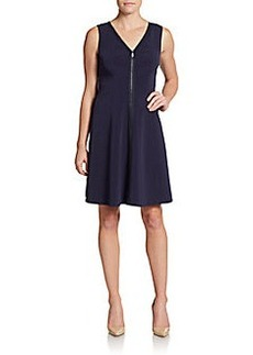 Elie Tahari Lindy Fit-and-Flare dress