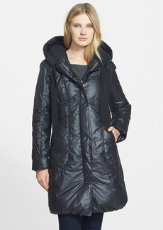 Elie Tahari 'Lisa' Pillow Collar Down Coat