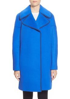 Elie Tahari 'Louisa' Wool Blend Long Coat