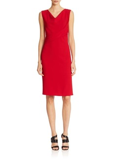 Elie Tahari Maize Crepe Dress