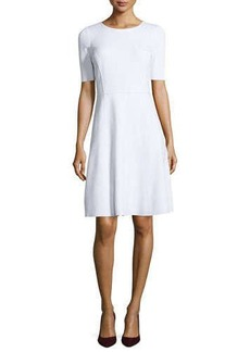 Elie Tahari Maria Fit-and-Flare Dress