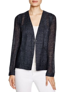 Elie Tahari May Linen Blend Jacket