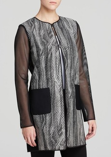 Elie Tahari Melody Reversible Coat
