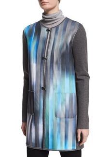 Elie Tahari Melody Reversible Wool-Blend Jacket  Melody Reversible Wool-Blend Jacket
