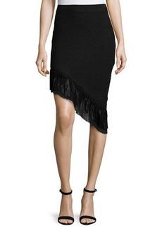 Elie Tahari Mindy Asymmetric Tweed Skirt  Mindy Asymmetric Tweed Skirt