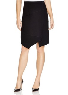 Elie Tahari Minka Asymmetric Seamed Skirt