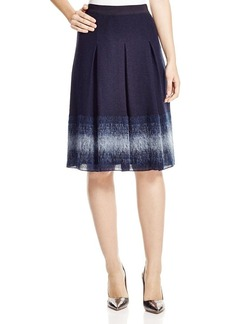 Elie Tahari Mirella Pleated Skirt