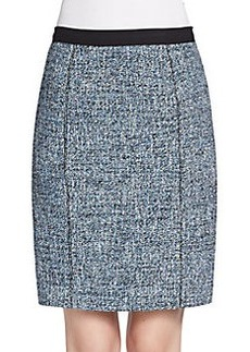 Elie Tahari Molly Tweed Pencil Skirt