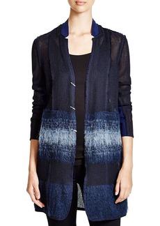 Elie Tahari Natalie Ombre Coat