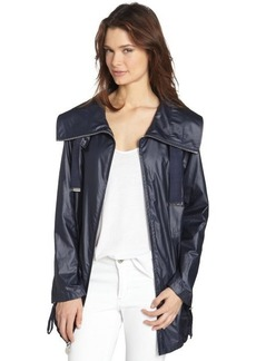 Elie Tahari navy yard 'Bryony' zip up anorak