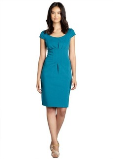 Elie Tahari ocean depths ponte knit 'Gia' boatneck dress