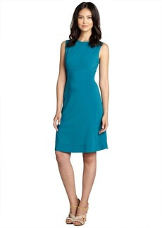Elie Tahari ocean depths seam detail 'Callie' sleeveless dress