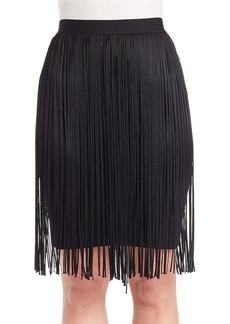 ELIE TAHARI Olsen Fringed Pencil Skirt