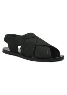 Elie Tahari Open Toe Flat Sandals - Seacliff