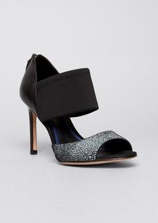 Elie Tahari Open Toe Platform Pumps - Indra High Heel