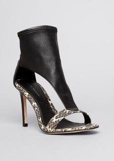Elie Tahari Open Toe Platform Sandals - Conner High Heel