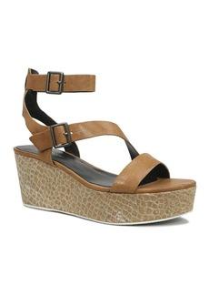 Elie Tahari Open Toe Platform Wedge Sandals - Mustique