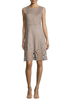Elie Tahari Ophelia Fit & Flare Cutout-Hem Dress  Ophelia Fit & Flare Cutout-Hem Dress