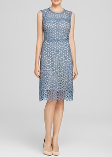 Elie Tahari Ophelia Floral Lace Dress