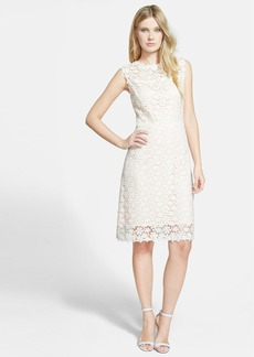 Elie Tahari 'Ophelia' Floral Lace Dress