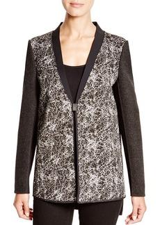Elie Tahari Pattern Block Jacket