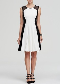 Elie Tahari Patti Color Block Dress
