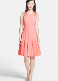 Elie Tahari 'Patti' Sleeveless Crepe Dress
