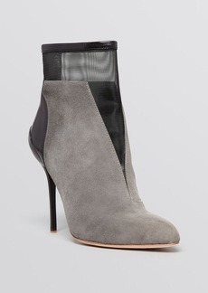 Elie Tahari Pointed Toe Booties - Nalia High Heel