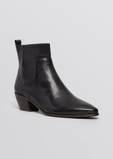 Elie Tahari Pointed Toe Booties - Positano