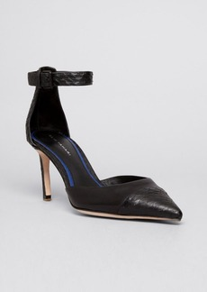 Elie Tahari Pointed Toe D'Orsay Pumps - Westside High Heel
